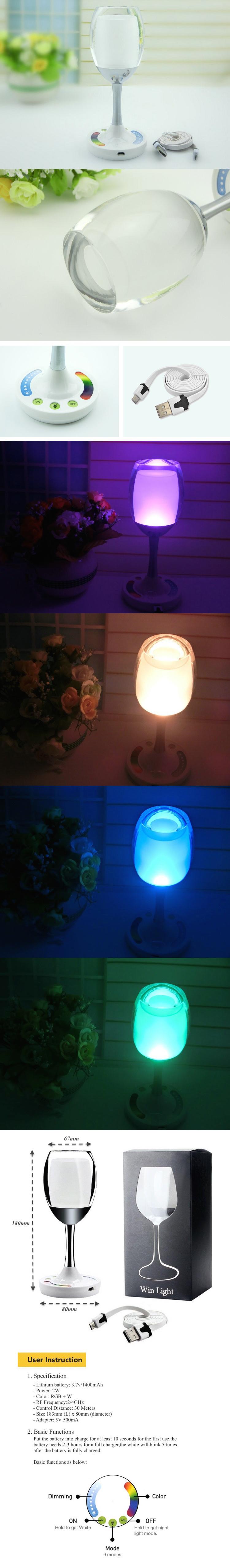 UNO T1 LED white & Multicolor Lamp