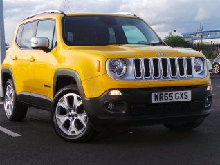 Jeep Renegade 2 0 Multijet Limited 4x4 5dr Used Jeep Jeep