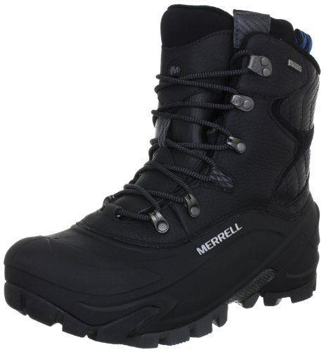 the best attitude 54e2c f1d7a Merrell Men s Norsehund Omega Mid Waterproof Winter Boot Black M US