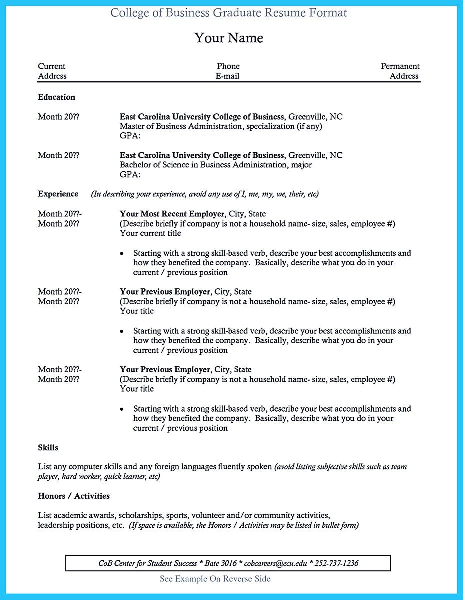 What Is Your Purpose In Making Business School Resume It Should Be Your Desire To Make Document Which Shows The Major Accomplishments You Have Reache Check
