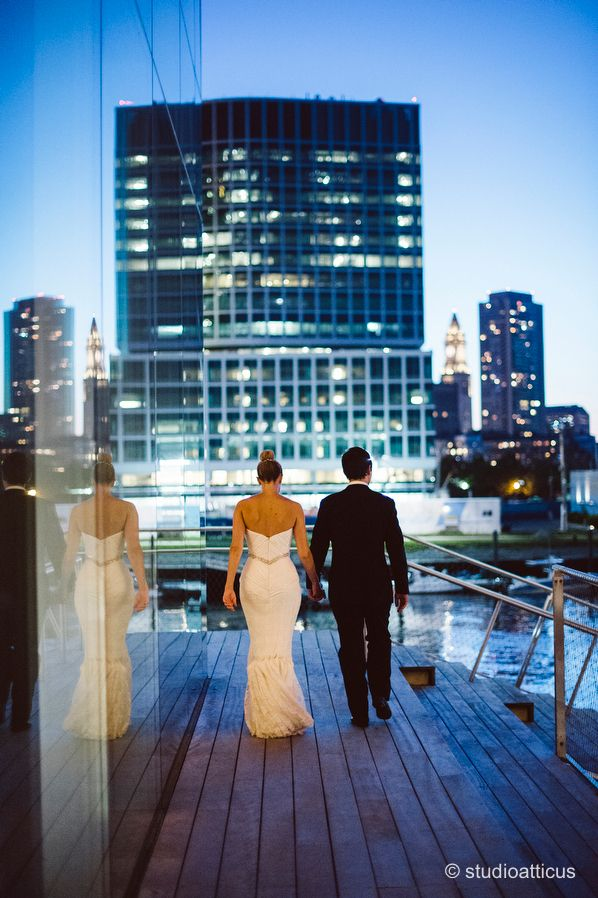 Modern Ica Wedding Boston Artistry Greek Elegant At The Insute Of Contemporary Art
