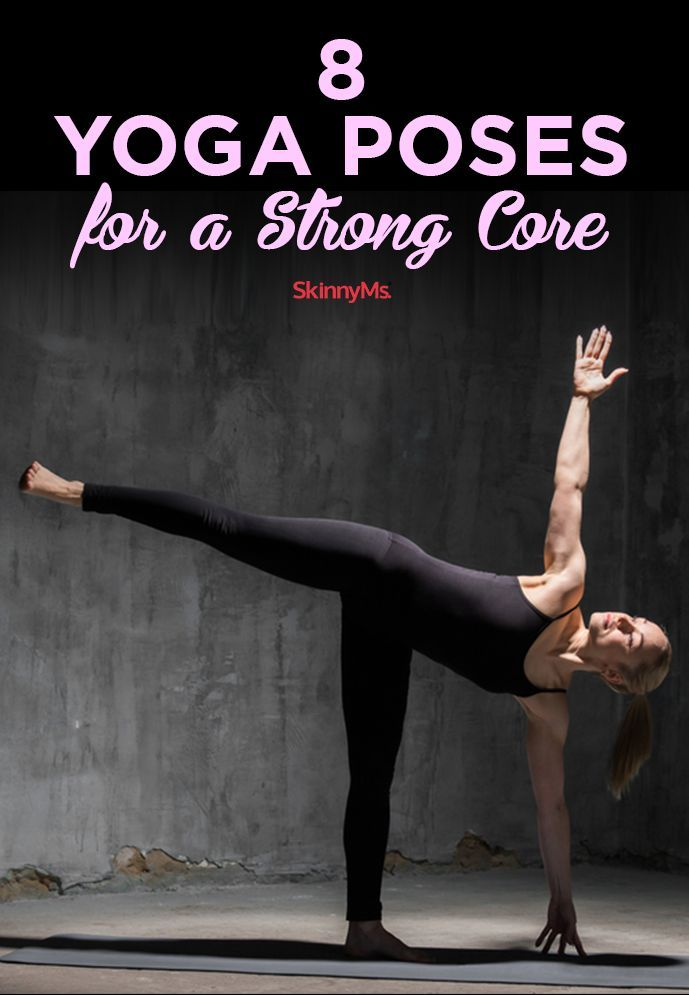 Improve your stability with these 8 Yoga Poses for a Strong Core!