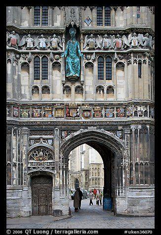 ae0916cf372e Christ Church Gate (Cathedral precincts main entrance). Canterbury ...