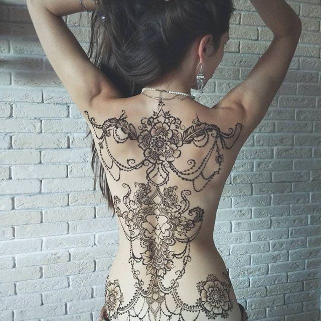 Instagram Photo By The Dollhouse Jul 8 2016 At 5 08pm Utc Henna Tattoo Full Body Henna Henna Tattoo Designs
