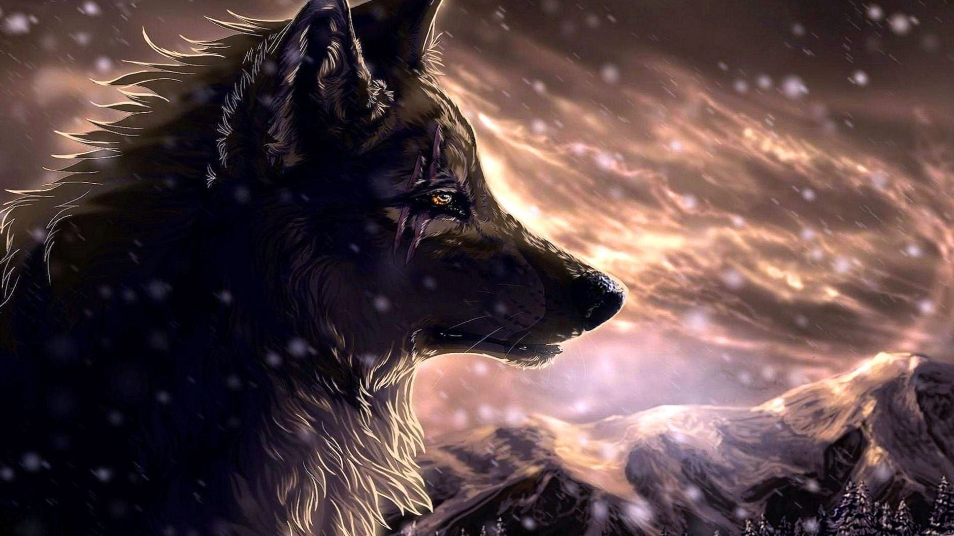 Anime Wolf Wallpapers Full Hd Anime Wolf Wallpapers Full Hd Wolf Wallpaper Wolf Background Iphone Wallpaper Wolf