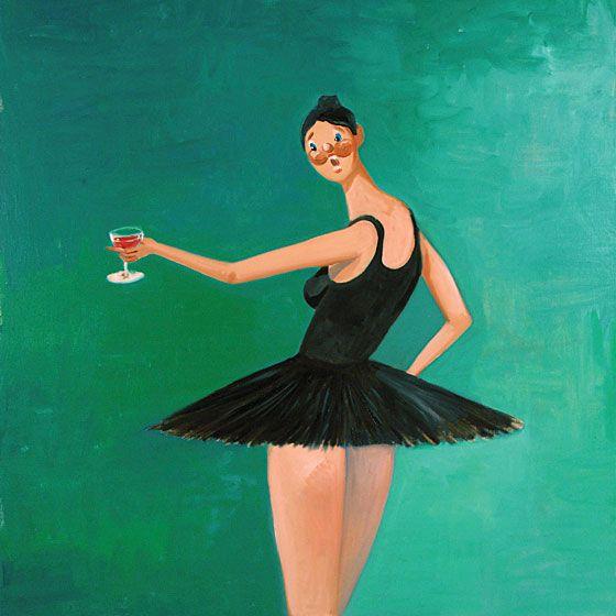 Ballerina By George Condo Beautiful Dark Twisted Fantasy Kanye West Tattoo George Condo