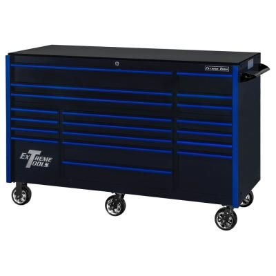 Extreme Tools Rx Series 72 In 19 Drawer Roller Cabinet Tool