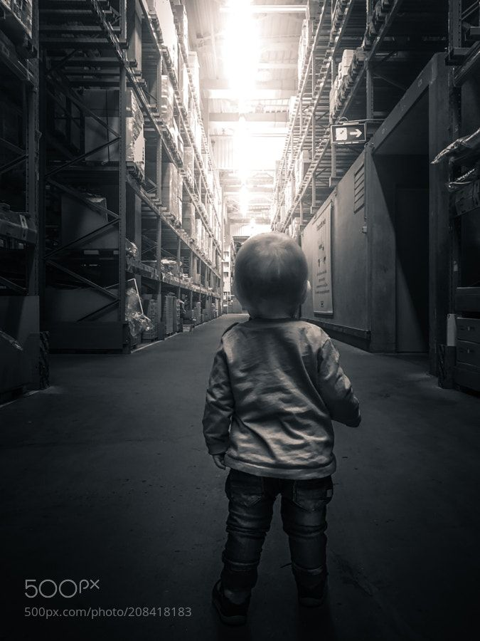 The Boy and Ikea by HatCatPhotography