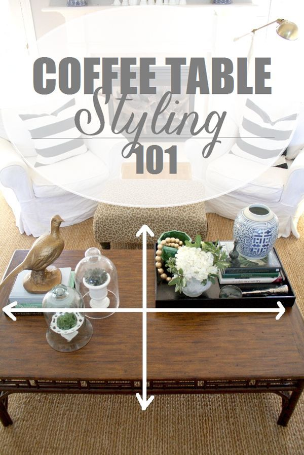 Styling Our Coffee Table Decorating tips Coffee and Tables