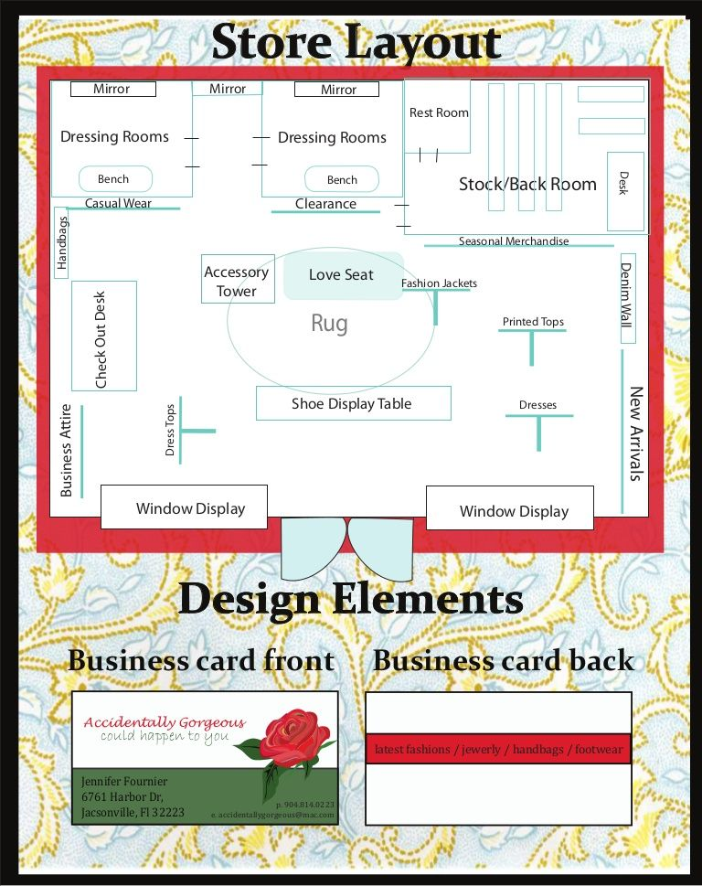 Store Planogram … Store design boutique, Store plan