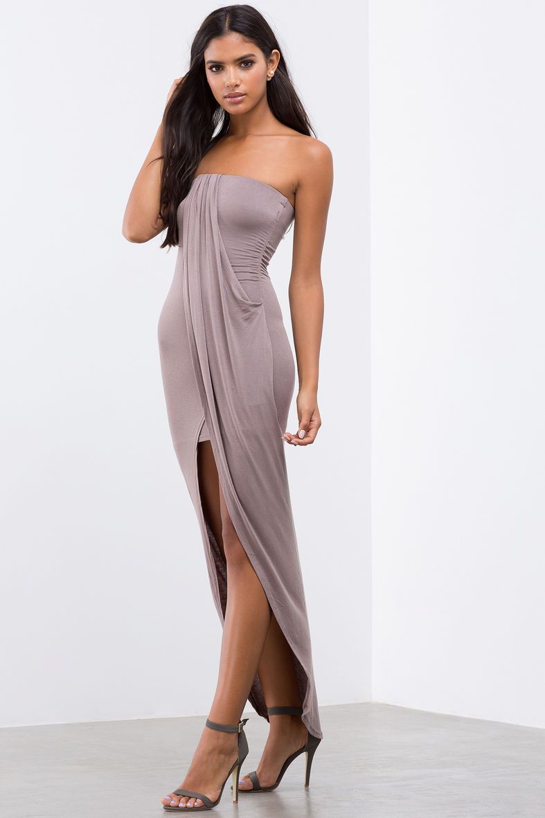 All Yours Drape Front DressAll Yours Drape Front Dress