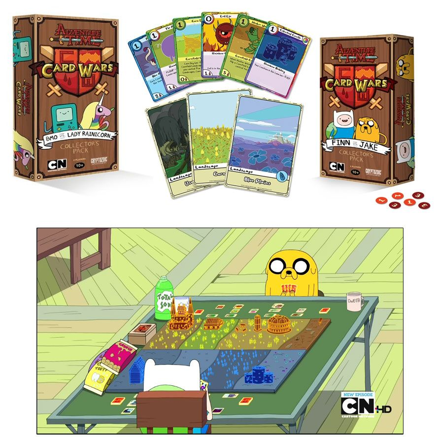 Do You Remember The Adventure Time Episode Card Wars