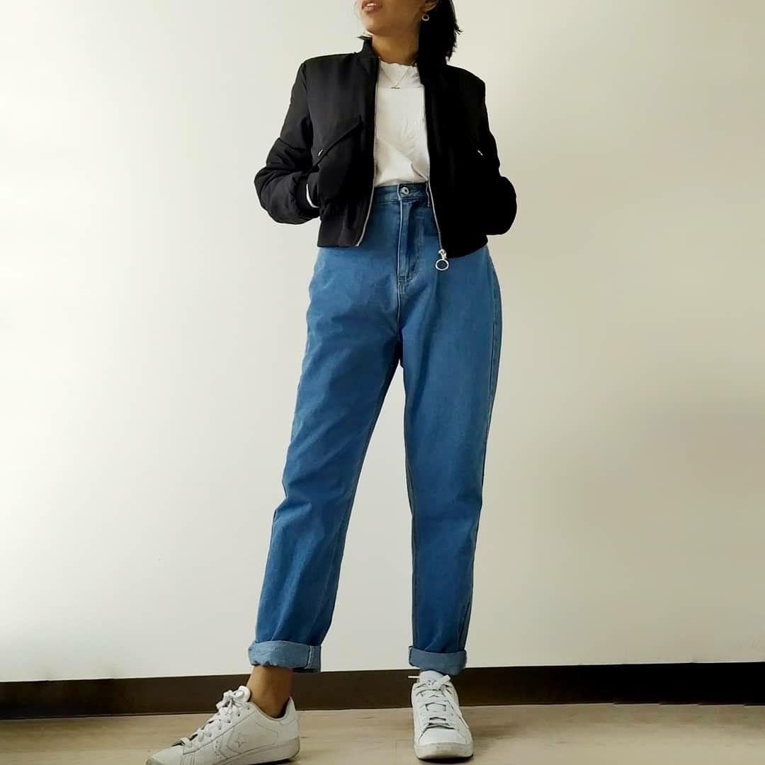 Photo of Jeans a vita alta mamma usato