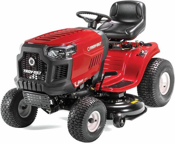 Troy Bilt Pony 42x Riding Lawn Mower With 42 Inch Deck And 547cc Engine Tractor In 2020 Best Riding Lawn Mower Lawn Mower Lawn Tractor