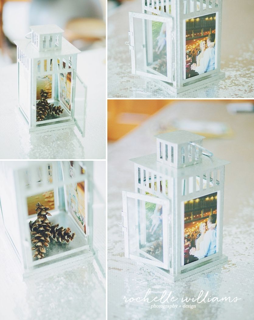 ROCHELLE WILLIAMS | weddings + love stories IKEA PHOTO LANTERN CENTERPIECE