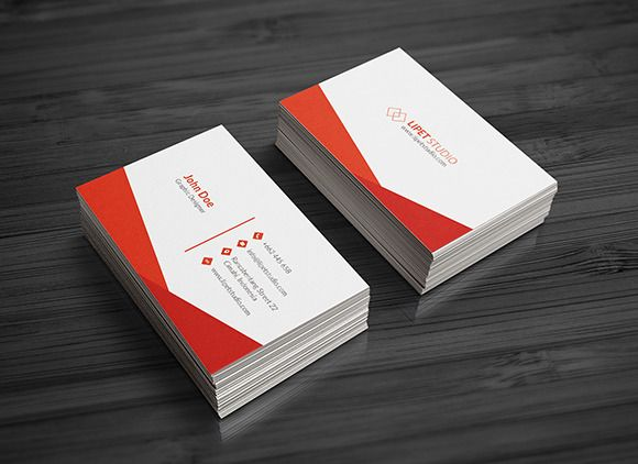 Sync - Simple Business Card Template | Simple business cards, Card ...