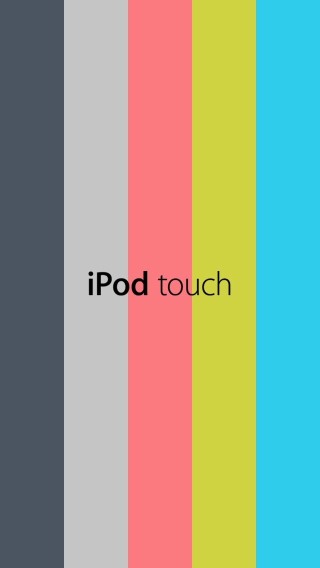 IPod Touch 5 Wallpaper Template