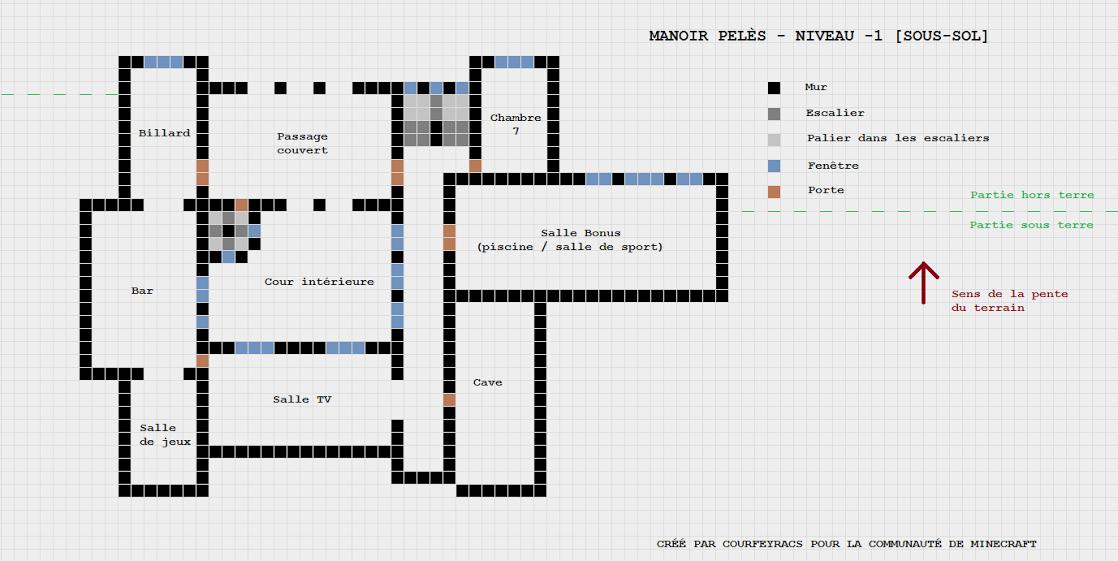R sultat de recherche d 39 images pour minecraft plan de for Modele maison minecraft