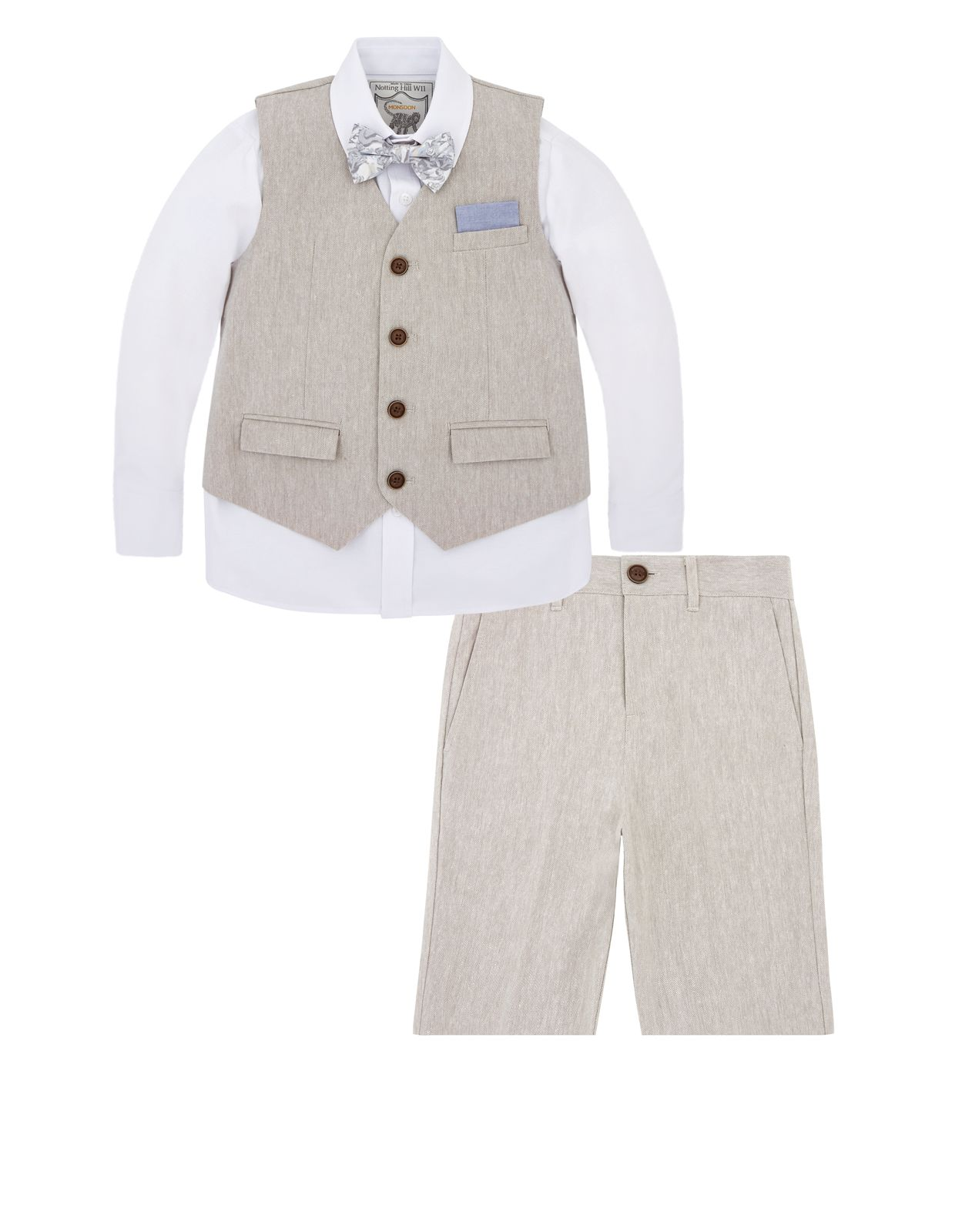b4272fd2f Our Lee four-piece suit for boys is perfect for warm weather ...