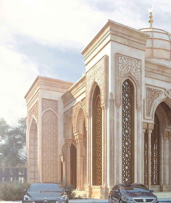 Masjed Project On Behance Mosque Architecture Architecture Facade Architecture