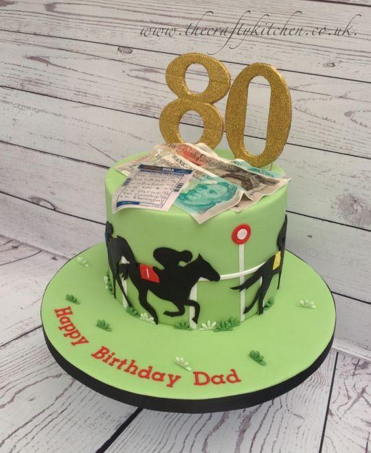 Betting Slip Birthday Cake