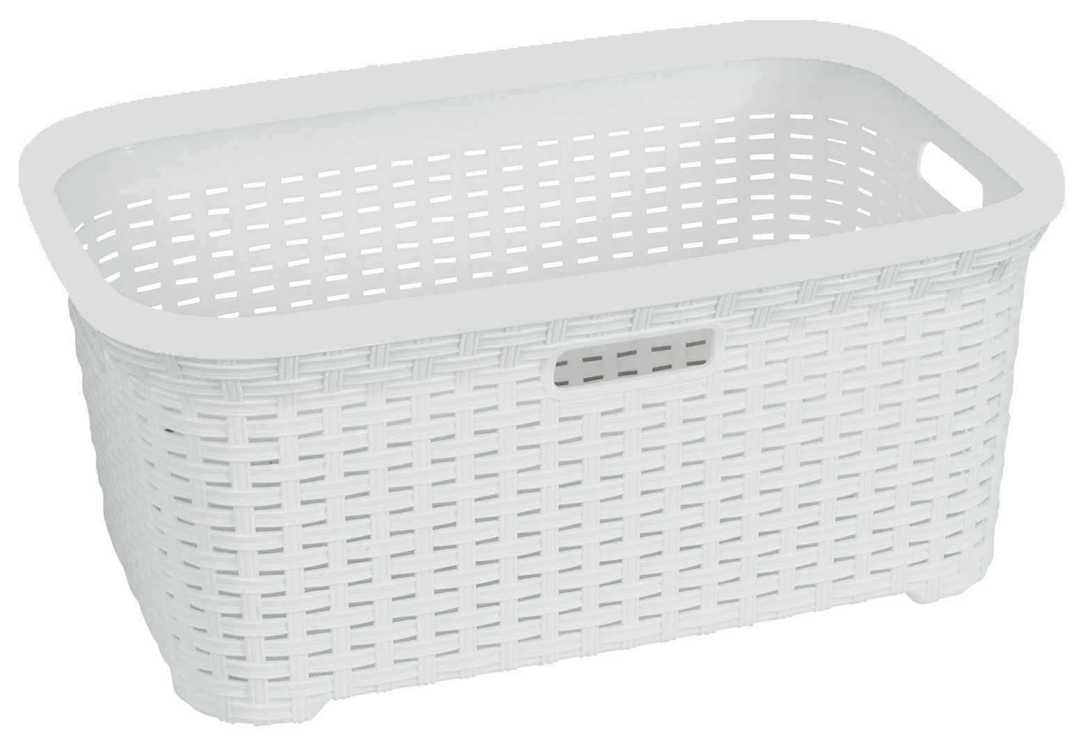 Contemporary Cabinet Laundry Hamper Basket Laundry Wicker