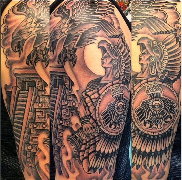 50 Intricate Aztec Tattoo Designs Tats N Rings Aztec Tattoo Aztec Tattoo Designs Tattoo Designs