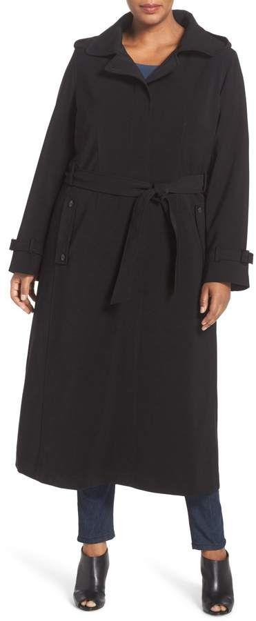 fdb59cd4bdc Gallery Long Nepage Raincoat with Detachable Hood   Liner