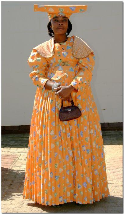 Botswana Cultural Dress Namibie Afrique Et Population Du Monde