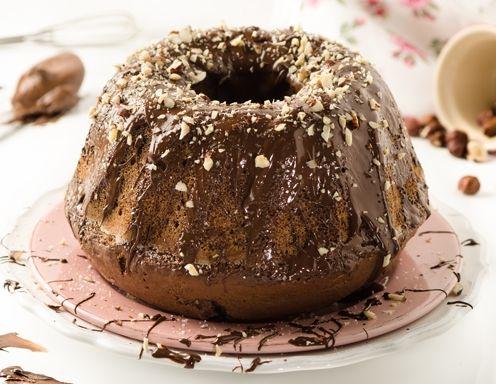 Nutella-Topfen-Gugelhupf