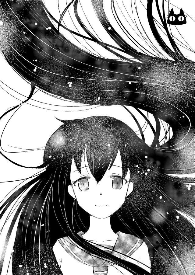 Kagome Blanco y negro by PaulinaAPC on DeviantArt  anime en