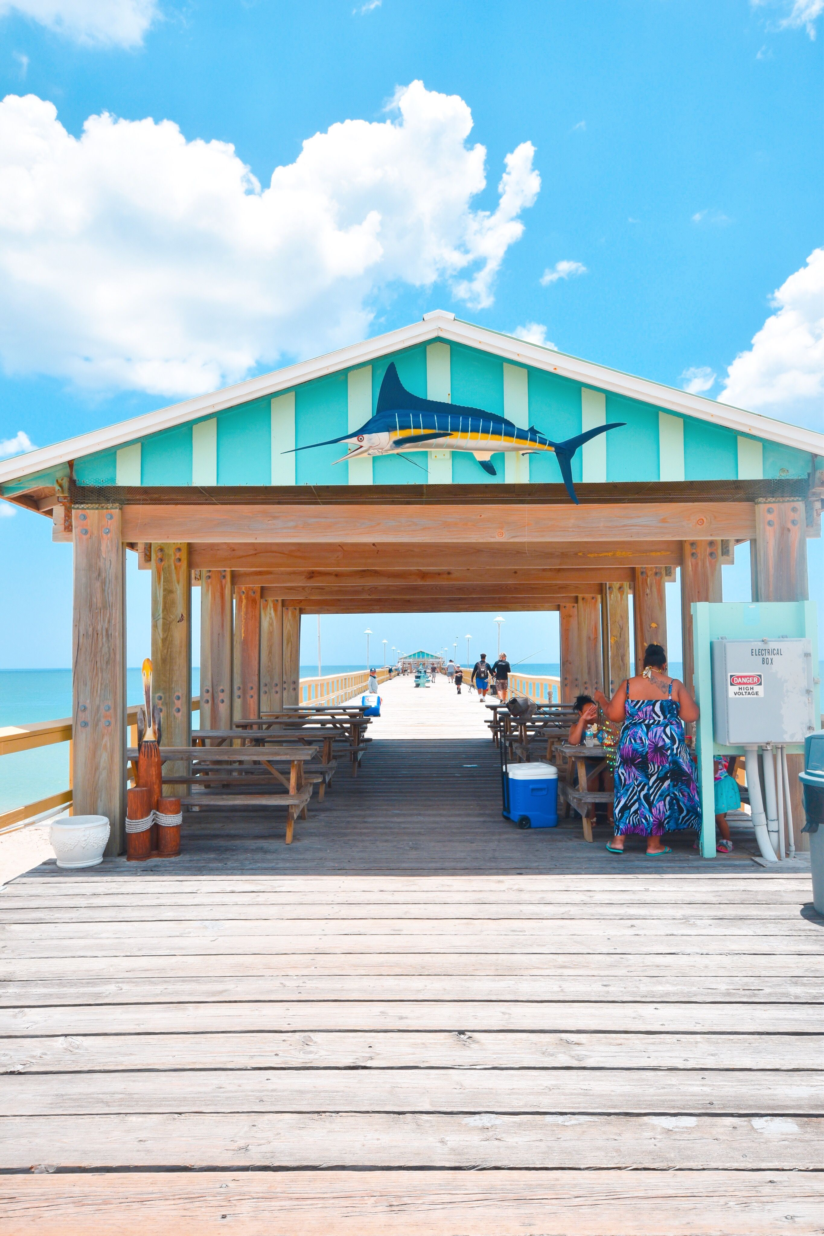 Anglins Fishing Pier In Fort Lauderdale Florida Pier Fishing