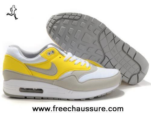 nike air max 1 holland blanc neutral gris vibrant jaune