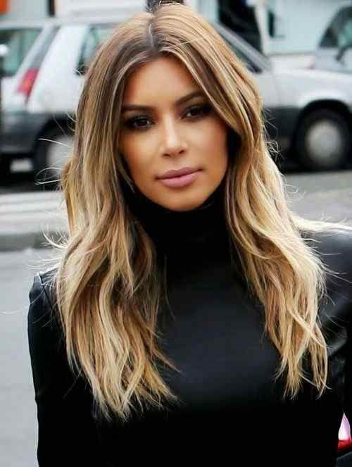Kim Kardashian,Balayage Hair