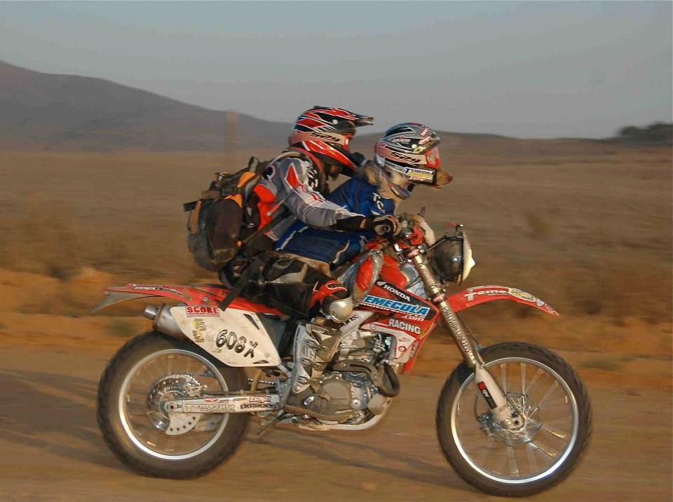 A Man His Dog And His Honda Adventure Motorcycling Adventure Bike Used Motorcycles