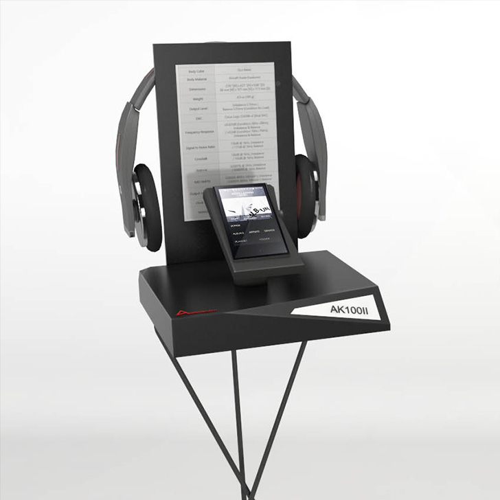 Exhibition and experience stands which reflect the strong design language of one of the strongest names in sound engineering, Astell & Kern mp3 players.     #armandesign #standdesign #industrialdesign #placedesign #designstrategy #designagency #designcenter #industrialdesignagency #innovativedesign