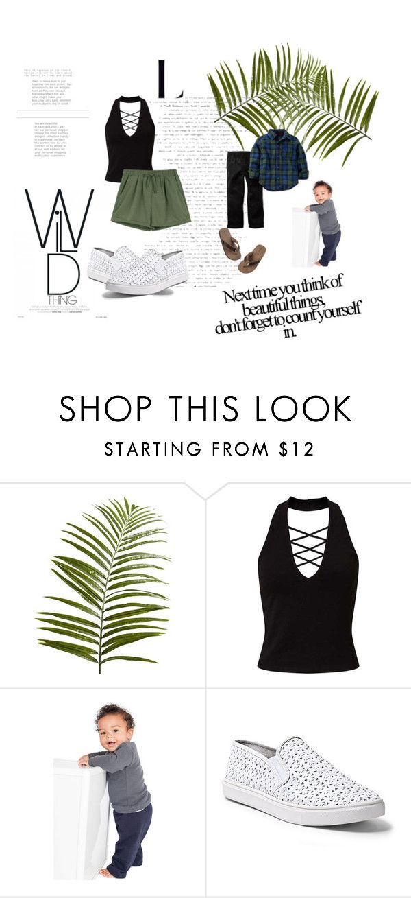 """""""Untitled #215"""" by nikkirozaye on Polyvore featuring Pier 1 Imports, Miss Selfridge, American Apparel, Steve Madden and Carter's"""