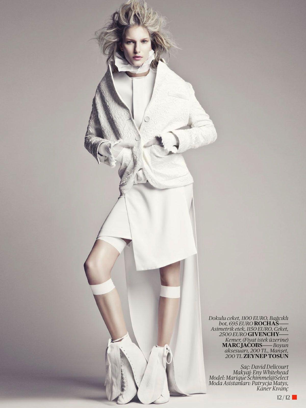 Pin by ZLB on Fashion // white!!! | Editorial fashion ...