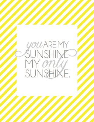 graphic regarding You Are My Sunshine Free Printable known as totally free printables Printables Free of charge prints, Printables