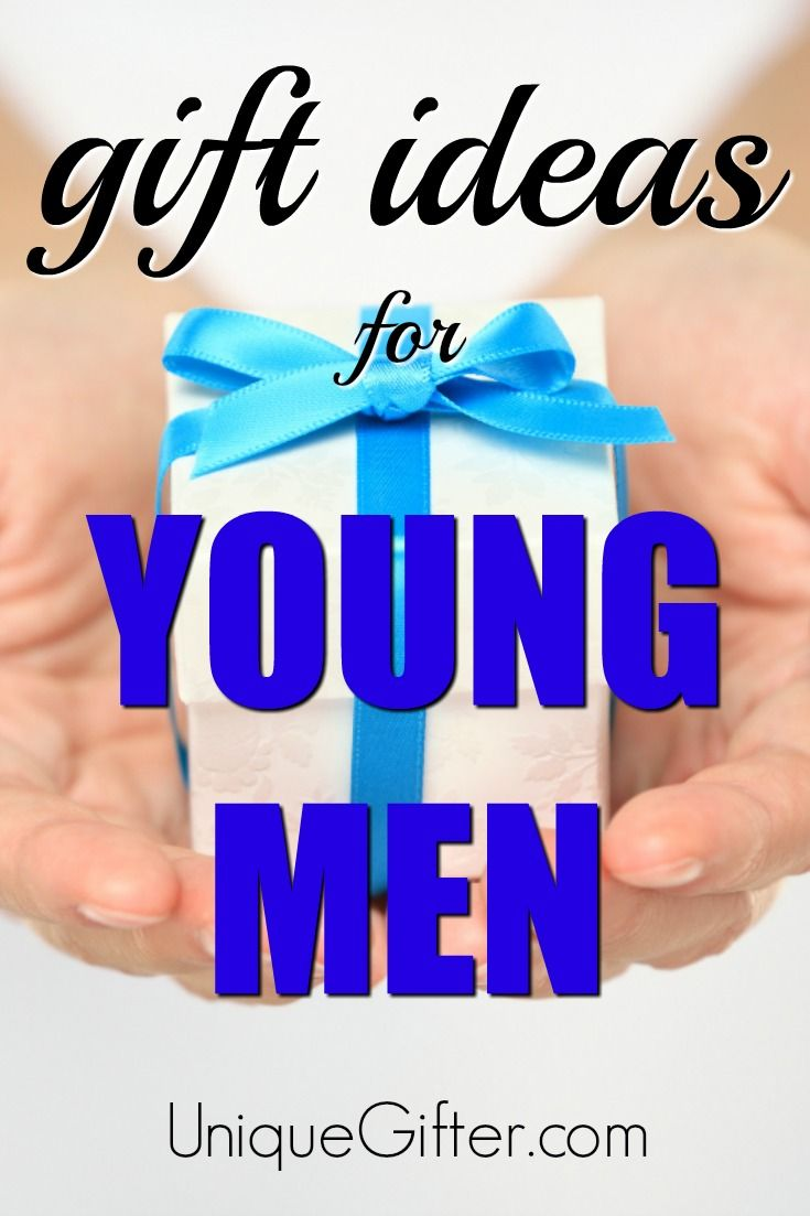 Gift Ideas For Young Men