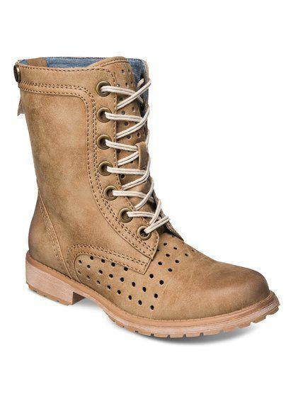 Roxy Womens Tan Boot Boots Pierce
