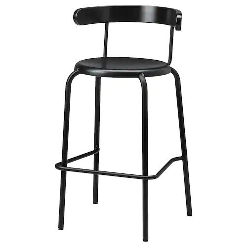 RÅSKOG Barpall, svart IKEA | Barstol, Ikea, Barstolar ikea