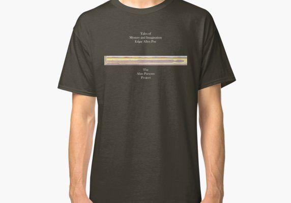 Alan Parsons Project Edgar Allen Poe Classic T Shirt By