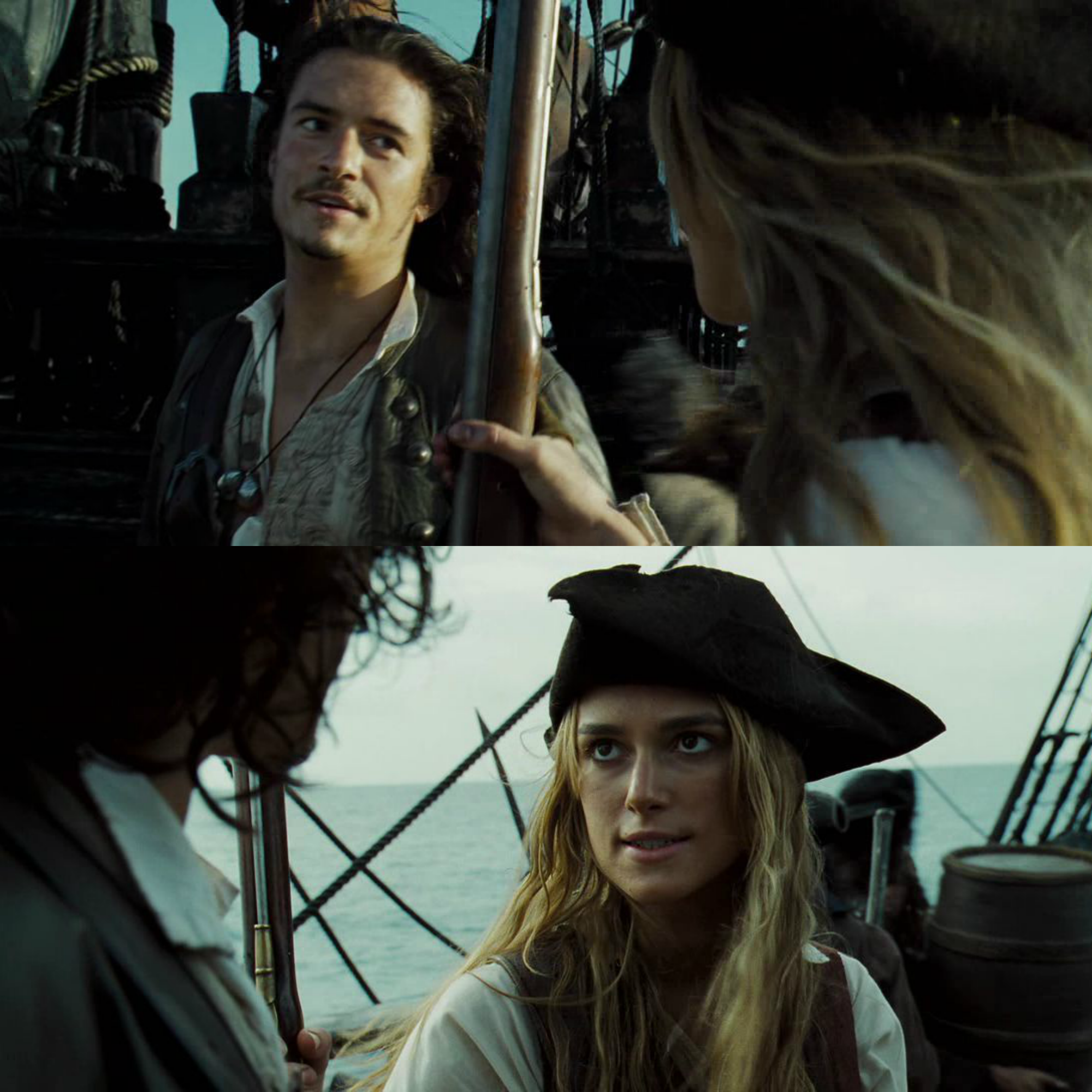 Pirates of the Caribbean Elizabeth Swann and Will Turner ...