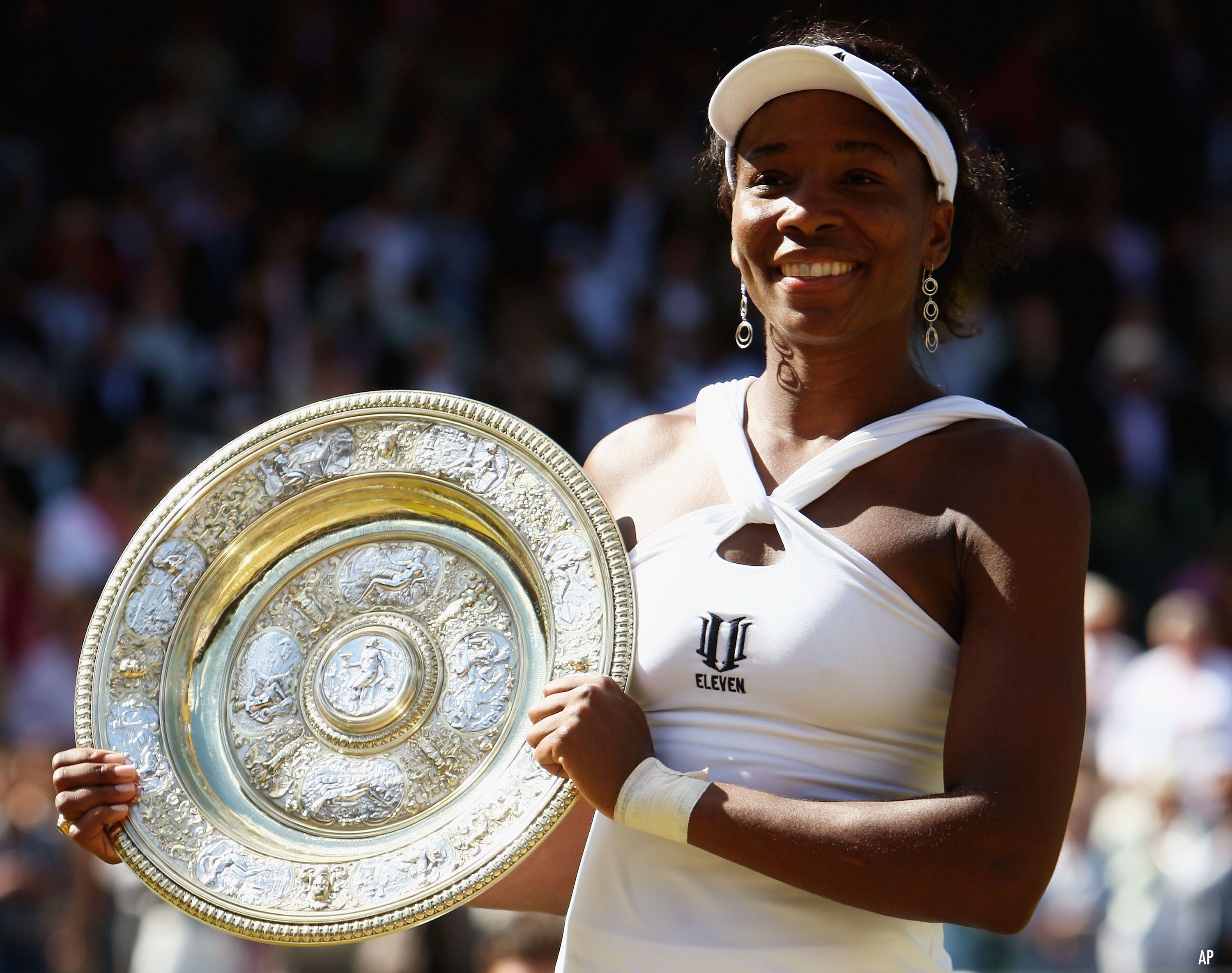 Venus Williams 7 Grand Slam singles titles