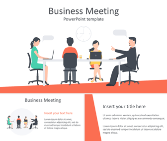 Impress Your Audience With This Free Business Meeting