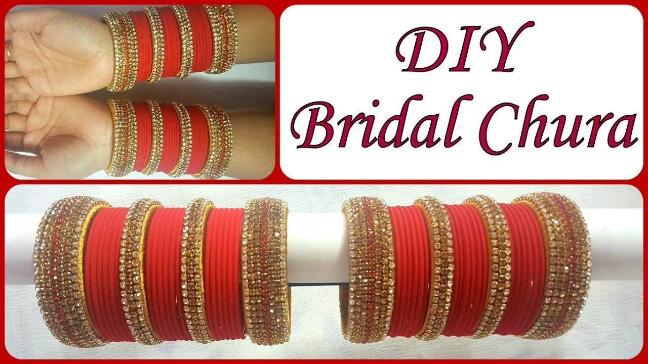 Jewelry & Watches 2.4 S Bollywood Bangles Bracelet Indian Punjabi Bridal Jewellery Chura Red D8 Year-End Bargain Sale Engagement & Wedding