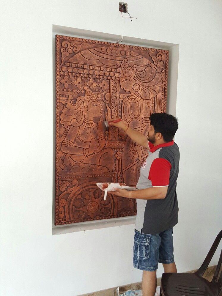 Murals Sculpt Mural Wall Art Kerala Mural Painting Mural Painting