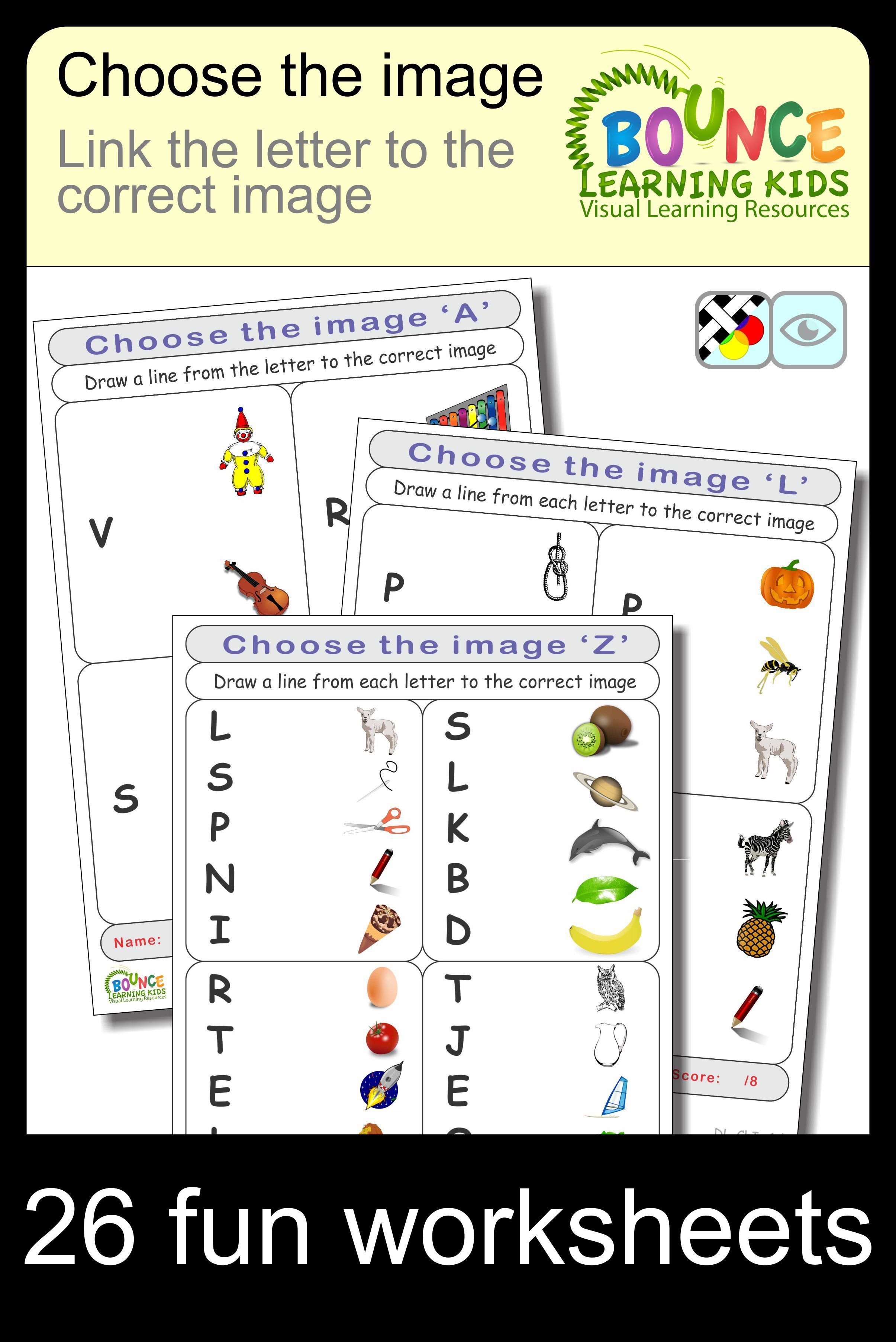 Choose The Image 26 Distance Learning Worksheets For