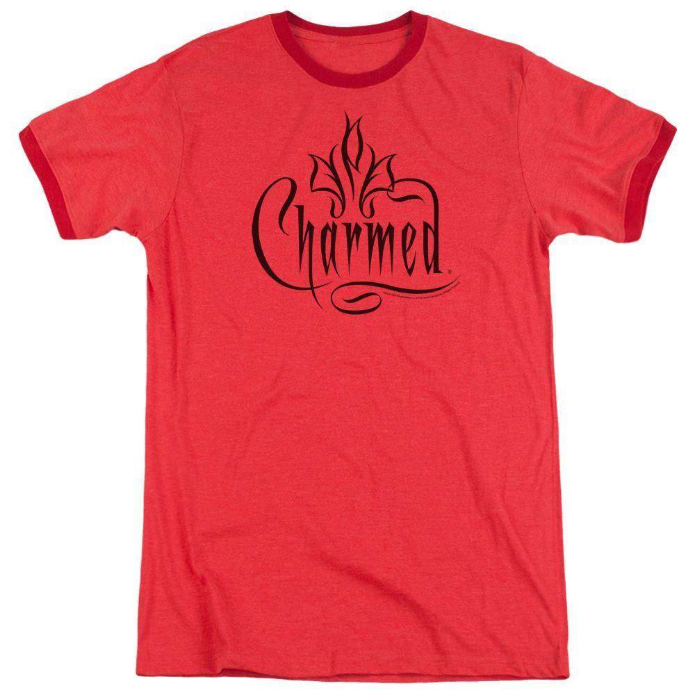Charmed Charmed Logo Red Ringer T-Shirt